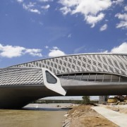 Zaha Hadid Bridge Pavilion Exhibition - Zaragoza. Choromanski Architects
