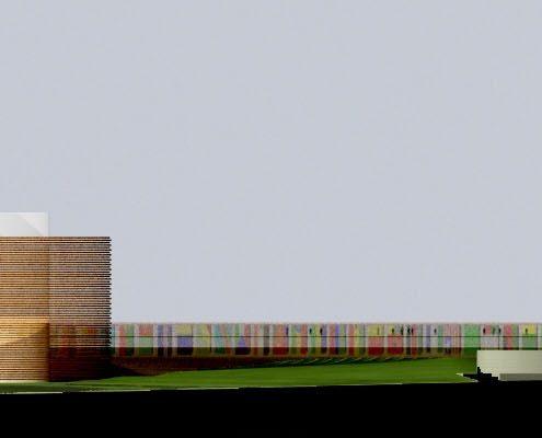 Pan African Parliament. Choromanski Architects