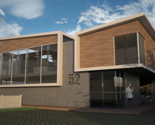 House Gerber. Choromanski Architects